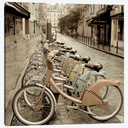 City Street Ride Canvas Print #ICS63} by Alan Blaustein Canvas Print