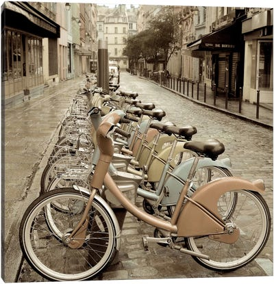City Street Ride by Alan Blaustein Canvas Print