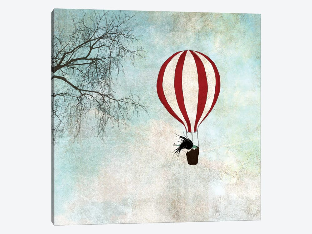 Up In The Air by Majali 1-piece Canvas Print