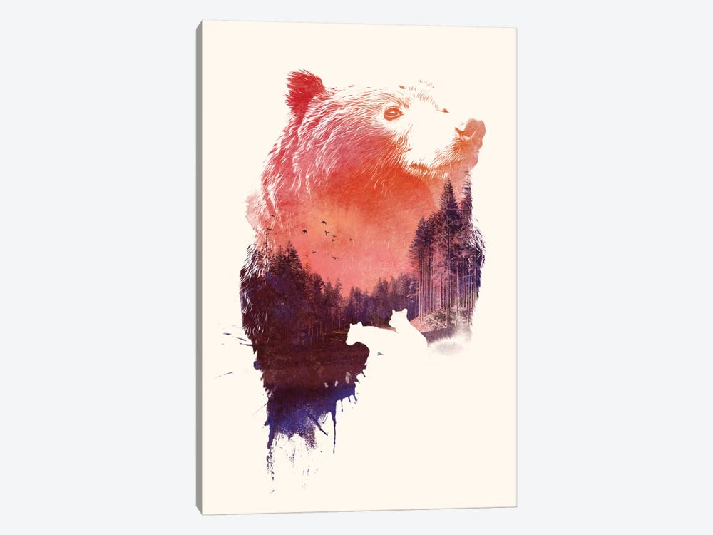 Love Forever by Robert Farkas 1-piece Canvas Art Print