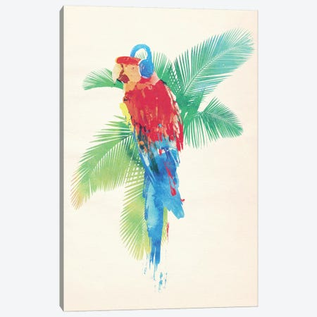 Tropical Party Canvas Print #ICS651} by Robert Farkas Art Print