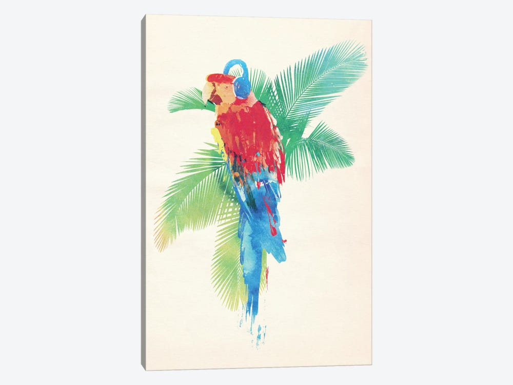 Tropical Party by Robert Farkas 1-piece Canvas Wall Art