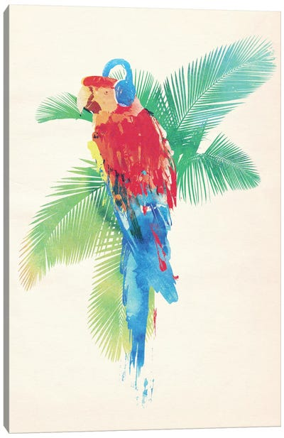 Tropical Party Canvas Art Print