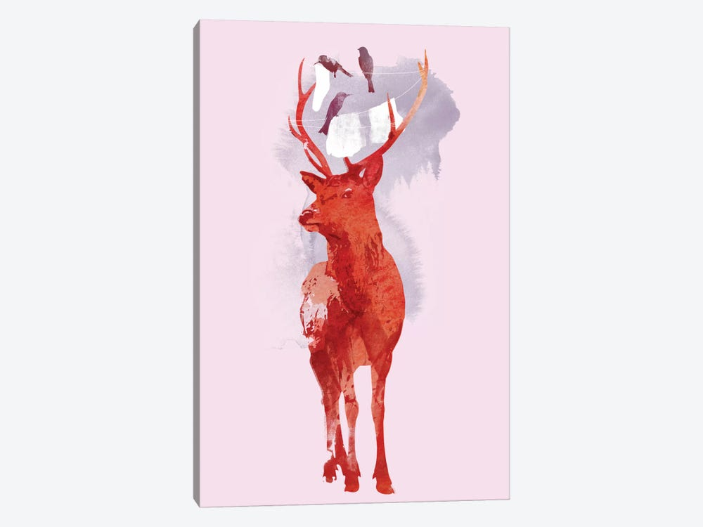 Useless Deer by Robert Farkas 1-piece Art Print
