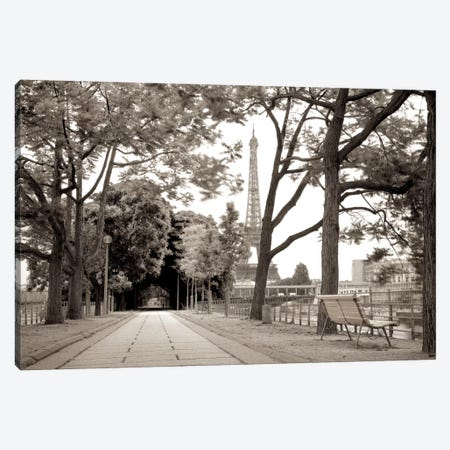 Promenade et Tour Eiffel Canvas Print #ICS655} by Alan Blaustein Canvas Art