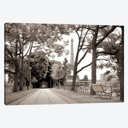Promenade et Tour Eiffel 3-Piece Canvas #ICS655} by Alan Blaustein Canvas Art