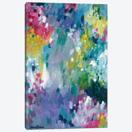 Dancing in the Rain Canvas Print #ICS656} by Amira Rahim Canvas Artwork