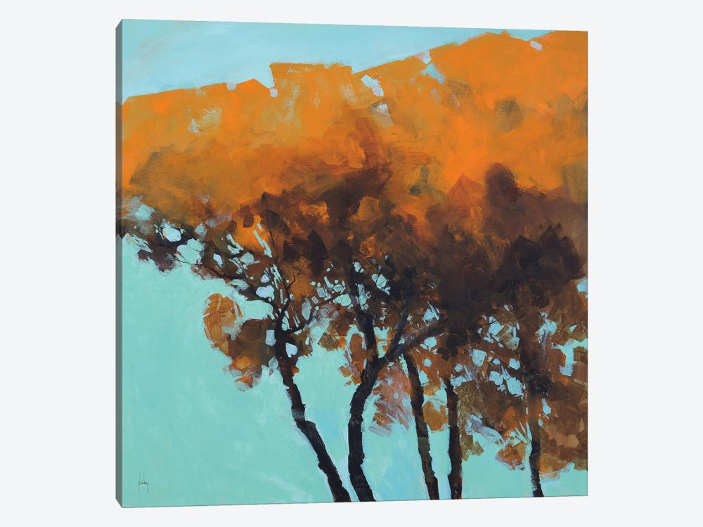 Five Trees by Paul Bailey 1-piece Art Print