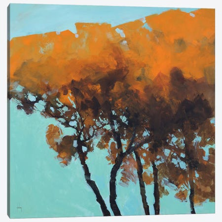 Five Trees Canvas Print #ICS65} by Paul Bailey Canvas Wall Art