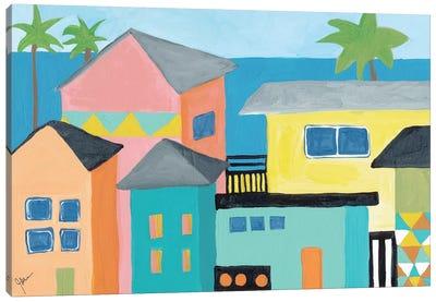 Beachfront Property I Canvas Print #ICS665