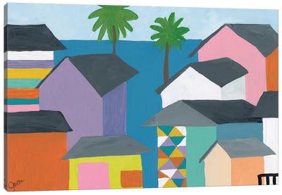 Beachfront Property II Canvas Print #ICS666