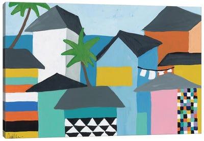 Beachfront Property III Canvas Print #ICS667