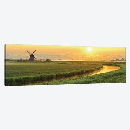 Morning Meadow Canvas Print #ICS673} by Lars van de Goor Canvas Art Print