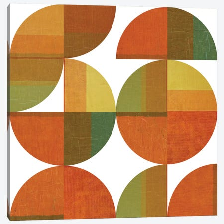 Four Suns Quartered Canvas Print #ICS678} by Michelle Calkins Canvas Art Print