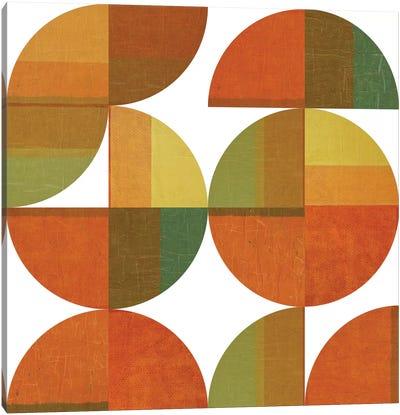 Four Suns Quartered Canvas Art Print
