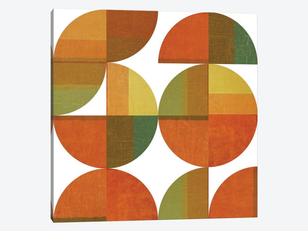 Four Suns Quartered by Michelle Calkins 1-piece Canvas Art Print