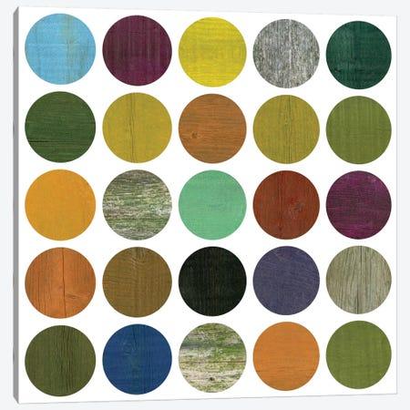 Rustic Rounds 4.0 Canvas Print #ICS679} by Michelle Calkins Canvas Print