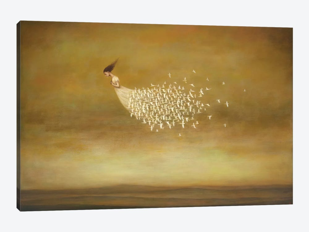 Freeform by Duy Huynh 1-piece Canvas Art