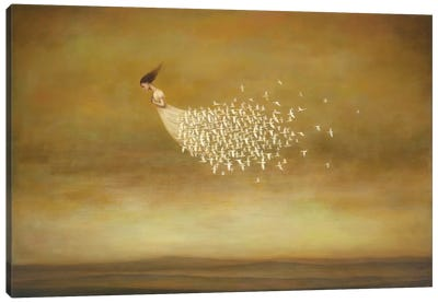 Freeform Canvas Art Print