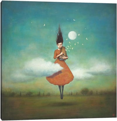 High Notes For Low Clouds Canvas Art Print