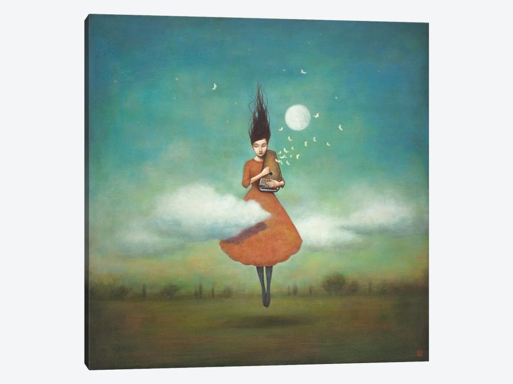 High Notes For Low Clouds by Duy Huynh 1-piece Canvas Print