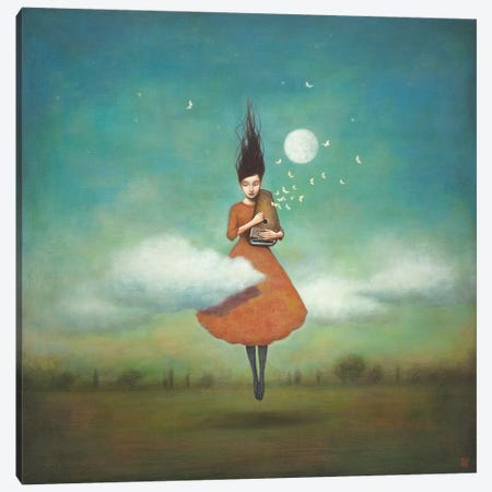 High Notes For Low Clouds Canvas Print #ICS700} by Duy Huynh Art Print