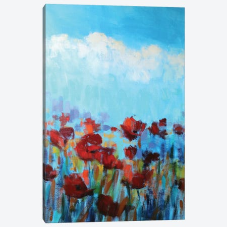 Garden Of Delights Canvas Print #ICS710} by Claire Hardy Canvas Art