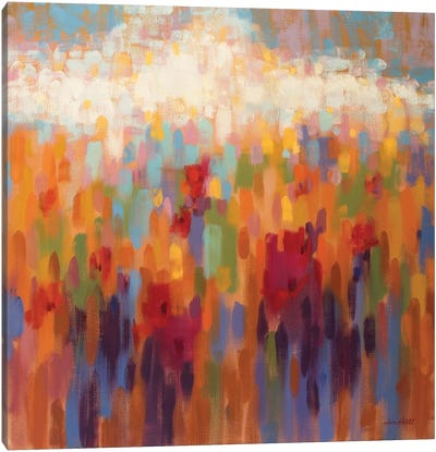 Poppy Mosaic Canvas Print #ICS711