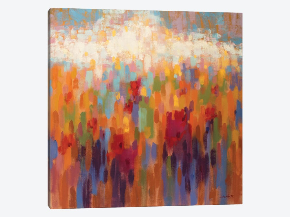 Poppy Mosaic by Claire Hardy 1-piece Canvas Print
