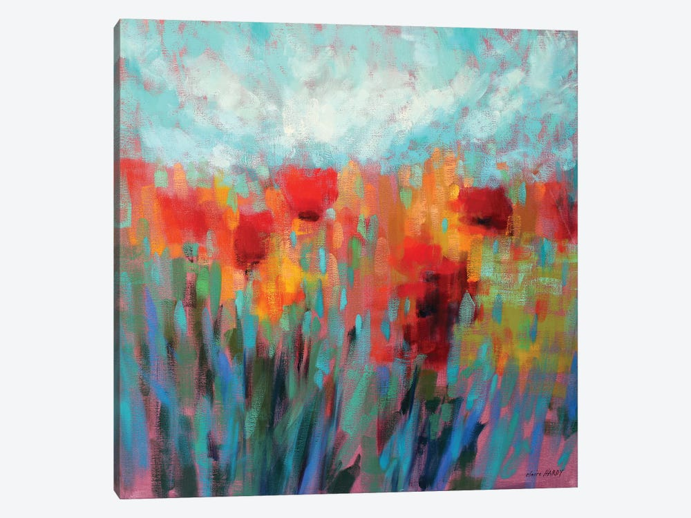 Shimmering by Claire Hardy 1-piece Canvas Print