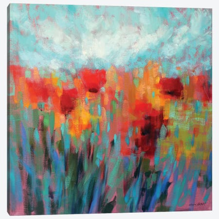 Shimmering Canvas Print #ICS713} by Claire Hardy Canvas Wall Art