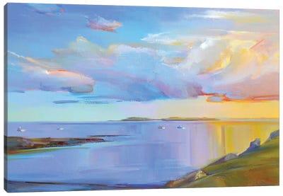 Summer Cove Canvas Art Print