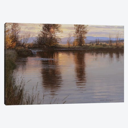 Just Before Nightfall Canvas Print #ICS722} by Jay Moore Canvas Print