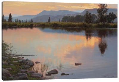 Tranquil Evening Canvas Art Print