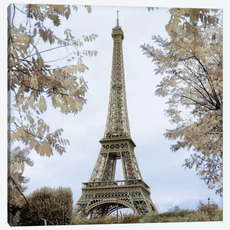 Tour Eiffel au Printemps Canvas Print #ICS72} by Alan Blaustein Canvas Art