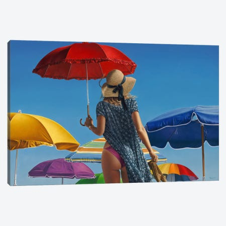 Canopies Canvas Print #ICS733} by Paul Kelley Canvas Artwork