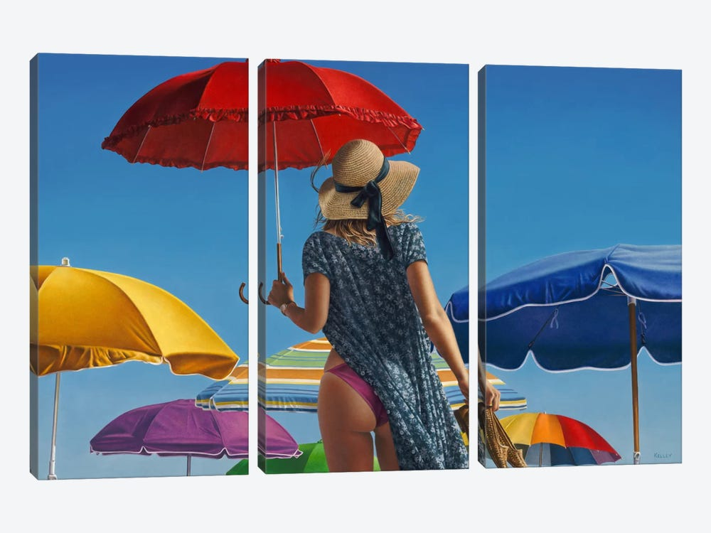 Canopies by Paul Kelley 3-piece Art Print