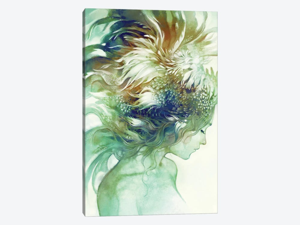 Comb by Anna Dittmann 1-piece Canvas Art Print