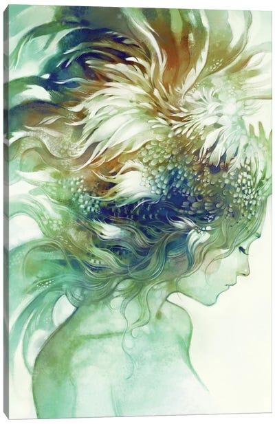 Comb Canvas Art Print