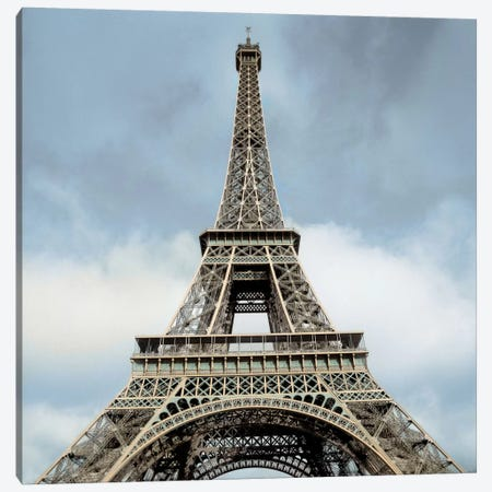 Eiffel Tower Canvas Print #ICS73} by Alan Blaustein Canvas Wall Art