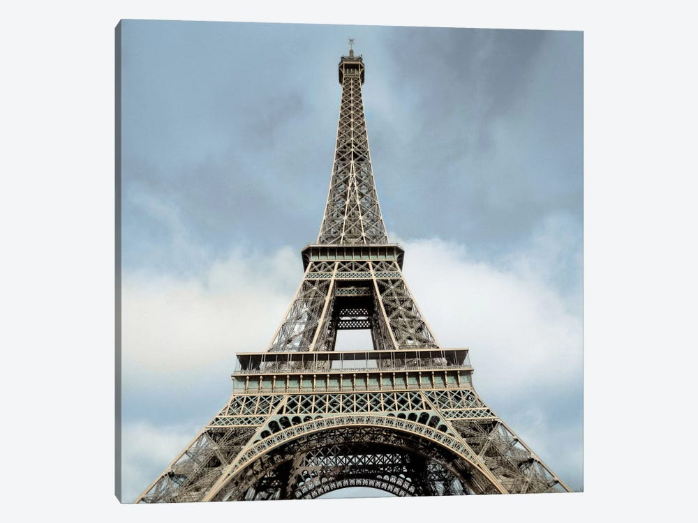 Eiffel Tower by Alan Blaustein 1-piece Canvas Artwork