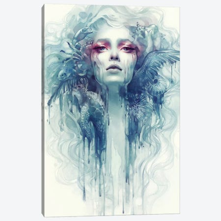 Oil Canvas Print #ICS742} by Anna Dittmann Art Print