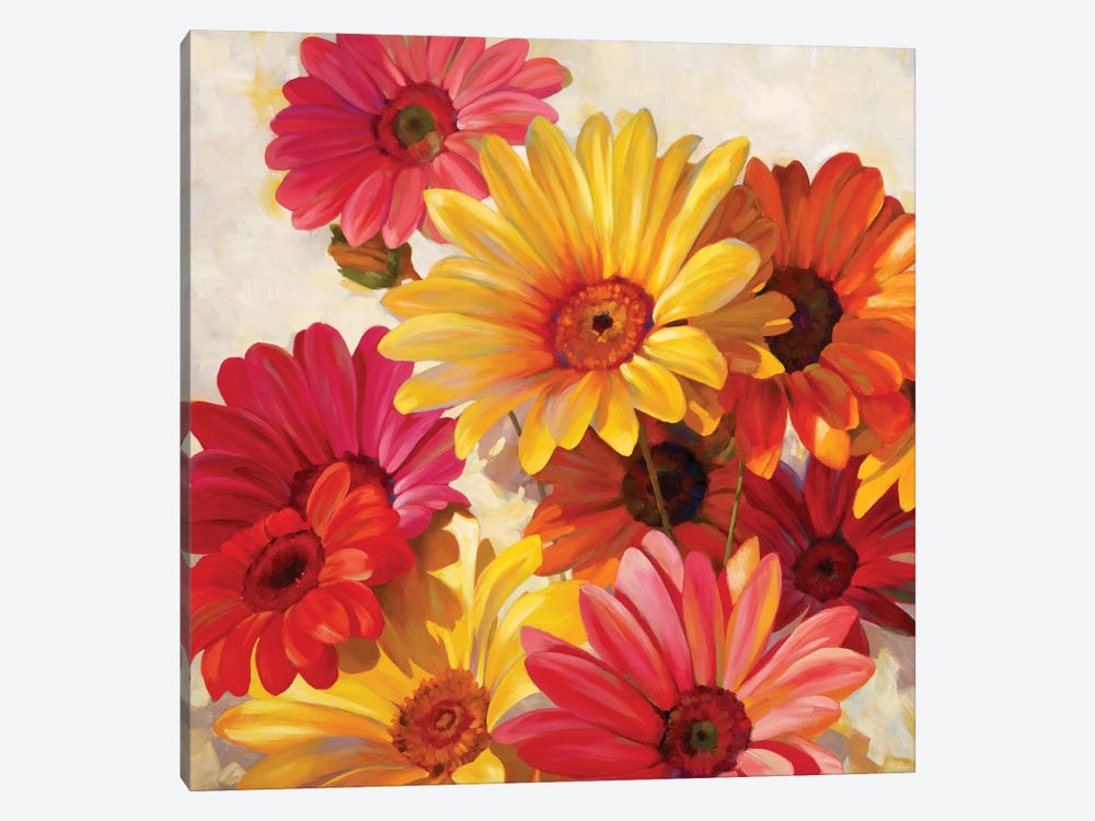 Daisies For Spring 1-piece Canvas Artwork
