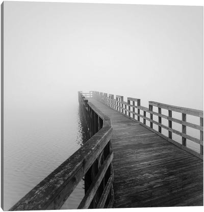 Concord Pier Canvas Art Print