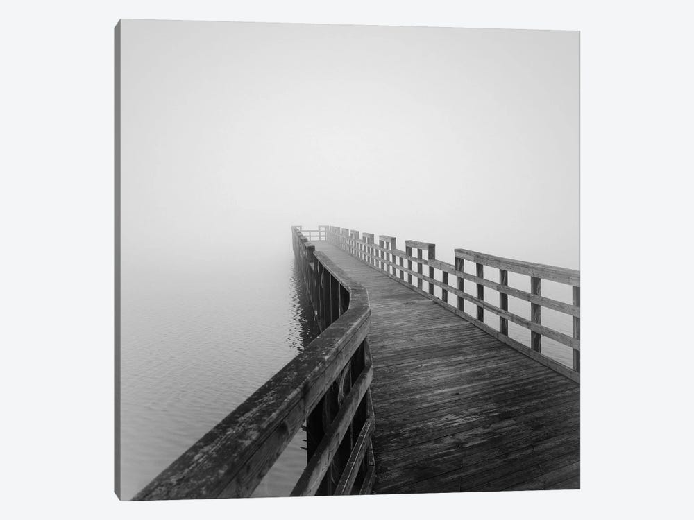 Concord Pier by Nicholas Bell 1-piece Canvas Art Print