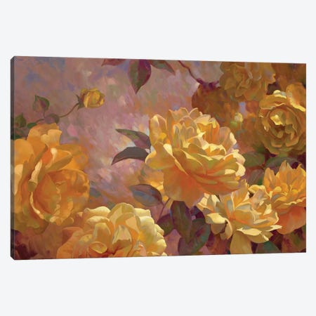 Golden Glow Canvas Print #ICS750} by Emma Styles Canvas Art