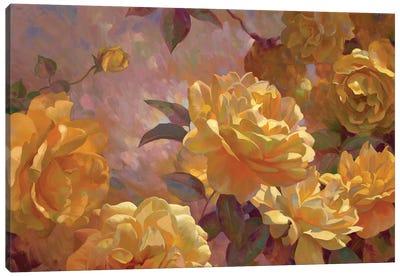 Golden Glow Canvas Print #ICS750
