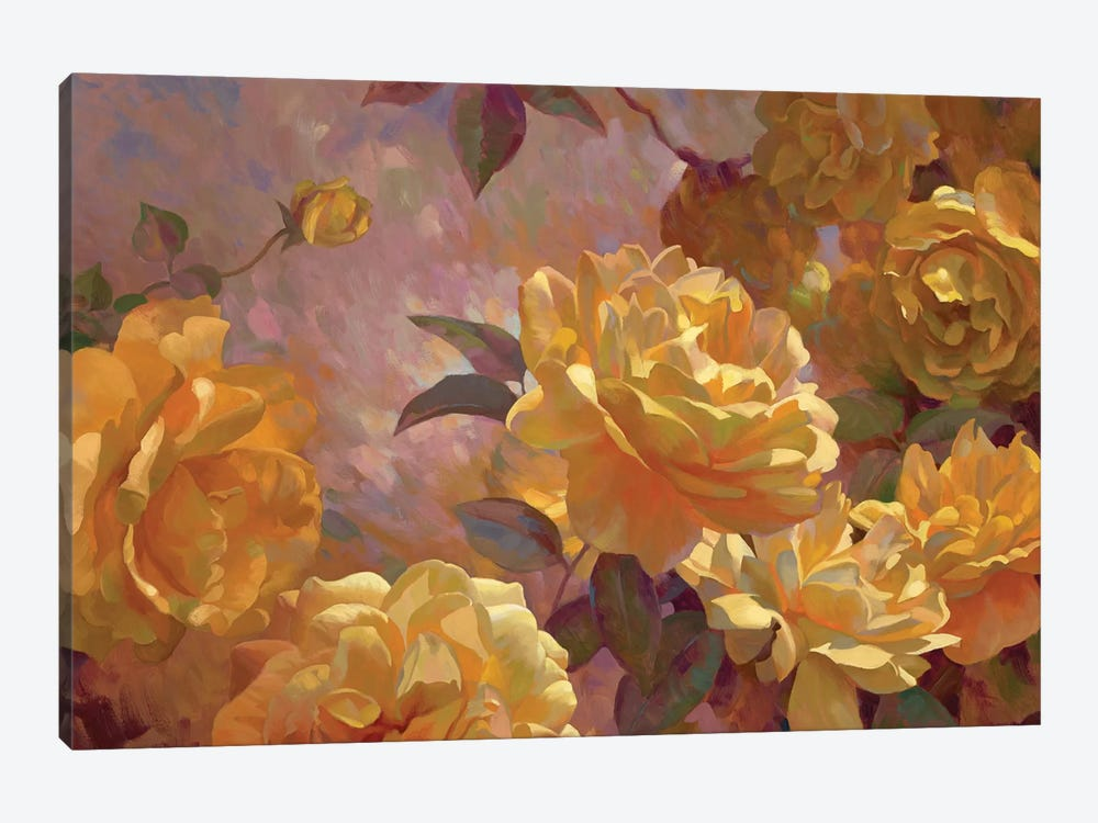 Golden Glow by Emma Styles 1-piece Canvas Artwork