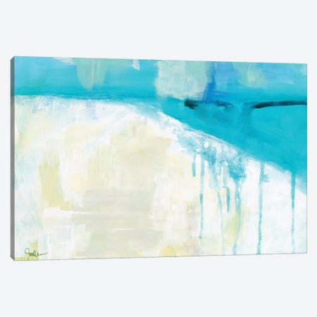 Coastal Blues I Canvas Print #ICS757} by Jan Weiss Art Print