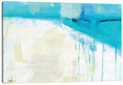 Coastal Blues I Canvas Art Print